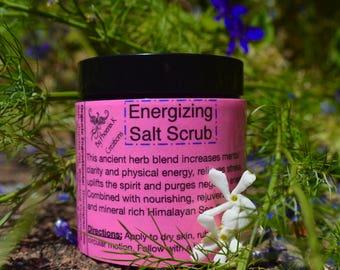 Energizing Salt Scrub-Raw & Organic, Vegan, Himalayan Sea Salt.