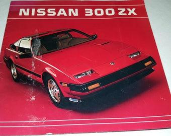 Nissan 300 ZX Dealer Sales Brochure 1983