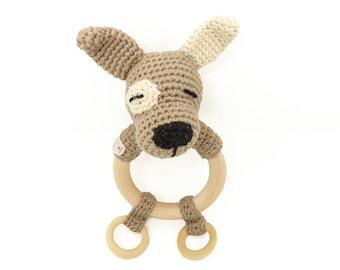Hochet au crochet / hochet bébé / hochet fait main / jouet bébé / cadeau de naissance / cadeau bébé /