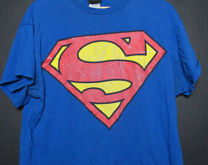 Superman DC comics vintage Tshirt