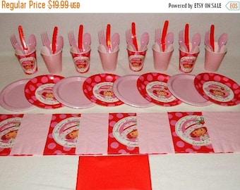 ON SALE Strawberry Shortcake Tableware set for 8