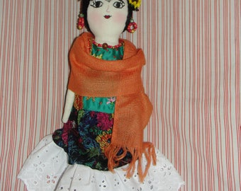 Frida Kahlo Collectible handmade