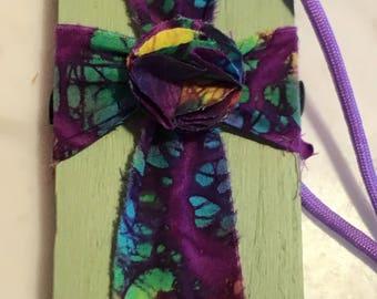 3 x 5 Batik Cross