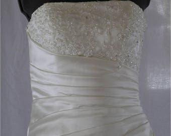 Wedding Gown UK NEW Ivory size 12