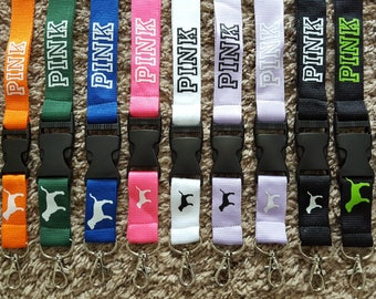 Lanyard Pink Multiple Color Options