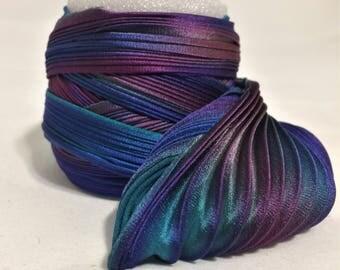 Silk ribbon Shibori N 69  Free delivery from  50 dollar...