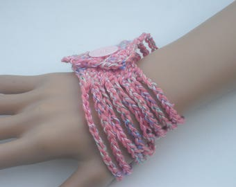 Bracelet - crocheted bracelet - jewelry - bracelet