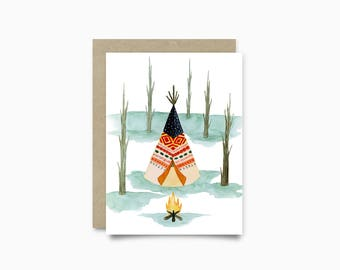 Greeting card - Motel