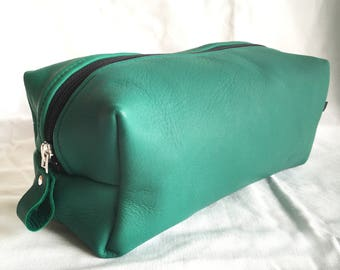 100% Genuine Leather Toiletry Bag