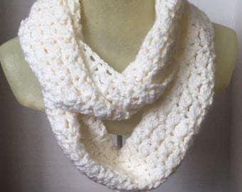 Infinity Scarf, Crochet Scarf, Handmade Scarf, Hipster Scarf, Handmade Crochet Scarf
