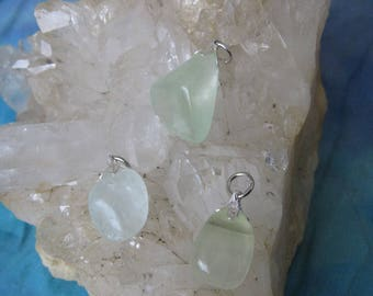 Green Calcite Pendant, Calcite Pendant Green, Calcite Pendant, Tumbled Green Calcite Pendant, Calcite Green Crystal, Calcite Crystal Pendant