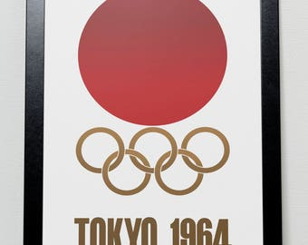 Tokyo Olympic Games 1964 Japan Poster