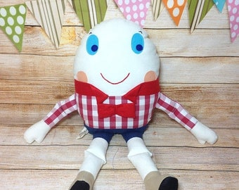 Sale Humpty Dumpty, Humpty Dumpty Toy, Humpty Dumpty Doll, Nursery Rhyme, Story Book Toy