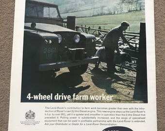 1960's Land Rover Defender Advert