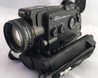 Yashica Sound 50xl, Super8 Camera, Vintage cine camera, Japanese Camera, 1970's Camera, Movie Camera, Collectable Camera,