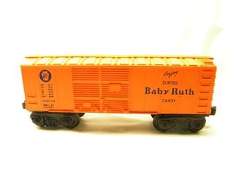 Lionel X6034 Baby Ruth Box Car  1953-1954     O Guge