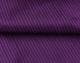 "Crafting Polyester Fabric, Stripe Pattern, Dress Material, Purple Fabric, Sewing Material, 55"" Inch Fabric By The Yard ZBP116J"