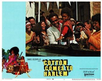 Cotton Comes To Harlem – 1970 - Original US lobby card   # 1