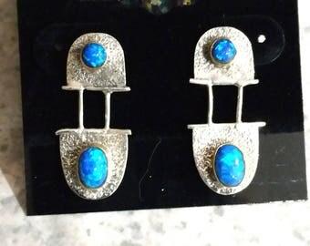 Opal Abstract Earrings