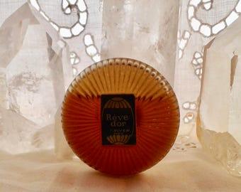 Louis-Toussaint Piver, Rêve d'Or, 15 ml. or 0.5 oz. Flacon, Pure Parfum Extrait, 1886, 1940, Paris, France ..