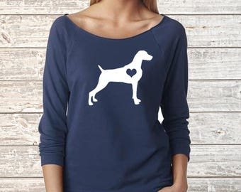 WEIMARANER Next Level Long Sleeve Shirt
