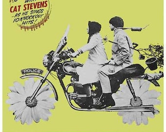Harold and Maude Movie  Rare Vintage Poster