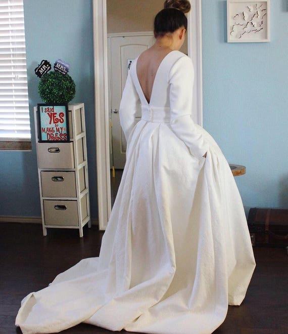 Ivory embossed wedding dress/ quilt jacquard wedding gown / : wedding dress quilts - Adamdwight.com