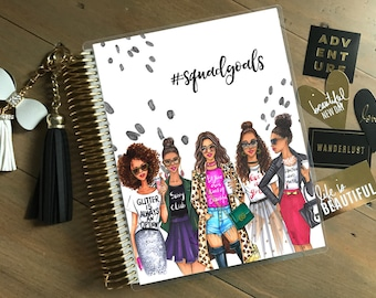 Rongrong DeVoe Collection - Squad Goals Stylish Planner Cover: for use with Erin Condren Life Planner(TM), Happy Planner