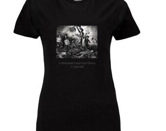 Tshirts, women M, XL (black) + the postcard as a gift