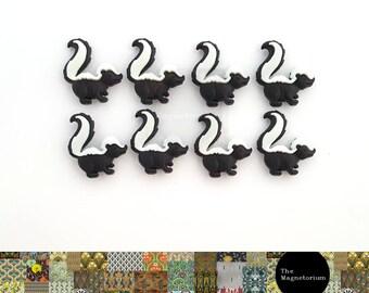 Skunk Fridge Magnet Set