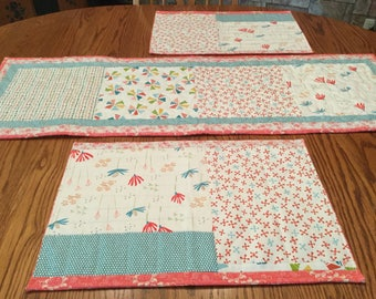 Table runner, Summer/Spring Quilted