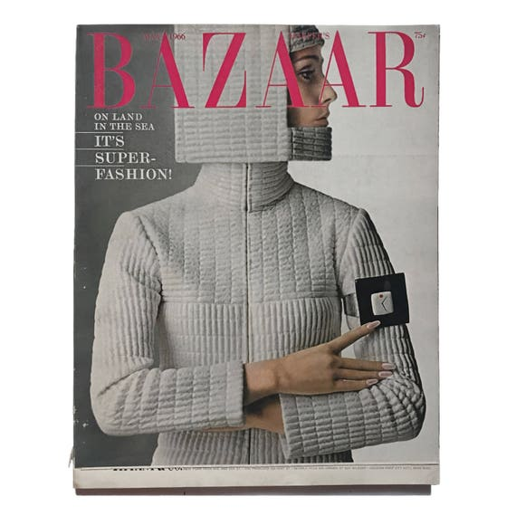 Harper's Bazaar, May 1966. Featuring Mia Farrow profile, interview with Duke and Duchess of Windsor on their favorite clothes.