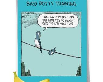 Bird Potty Training