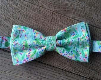 Bowtie - Greenary confetti