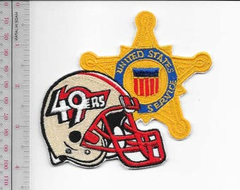 Secret Service USSS California San Francisco Field Office 49ers Agent Patch