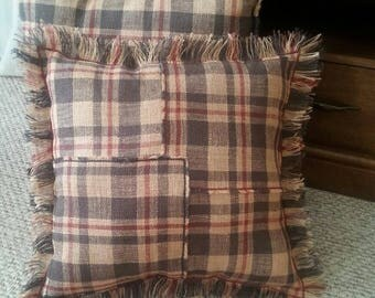 Set of 2 Country Pillows Country Decor Primitive decor