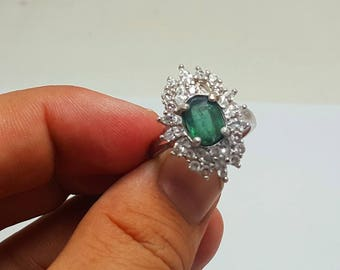 WOW Beautiful Green Color Tourmaline Ring@ Afghanistan (1)