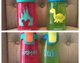 Kids personalized contigo water bottles