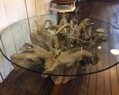 Driftwood Tree Root Coffe...