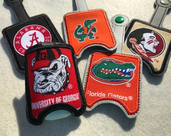 Game Day Hand Sanitizers, Indians, Dogs, Reptiles and Elephants, Sanitizer cases, Hand Sanitizer