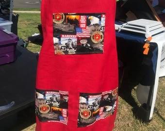 US Marines adult apron!