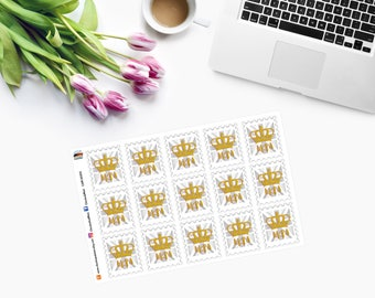 UKPA Stamps -  Planner Stickers CAM00310