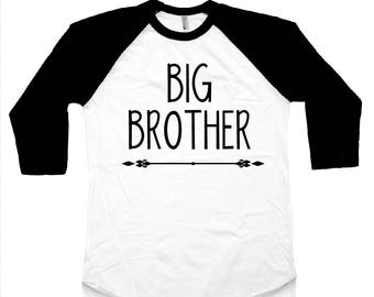 Big Brother Shirt Pregnancy Announcement Baby Announcement Big Brother Pregnancy Reveal Big Brother Gift