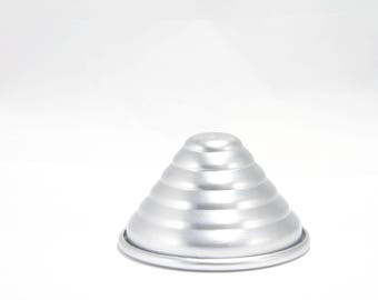 Small Spiral Cone Metal Bath Bomb Mold