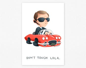 Phil Coulson Don't Touch Lola Agents of SHIELD Marvel Avengers Small Print