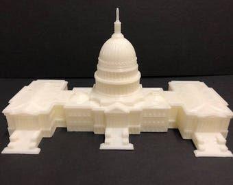 3D Printed U.S. Captial Building