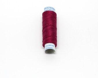 Valdani Luxury Pearl Silk Thread - #S775 Turkey Red