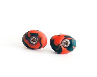 Climbing Holds Earrings, Climbing Earrings, Rock Climbing Gifts. Studs Jewelry Of Gym Holds Bulgaria
