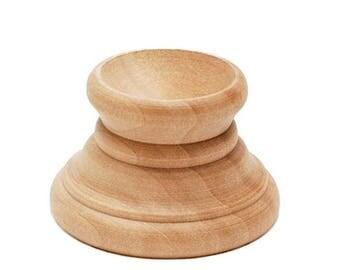 Blank Unfinished Wooden Egg Stand Holder Display
