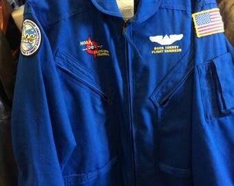 Blue Stormchaser Crewman Flight Suit ROCK TORREY